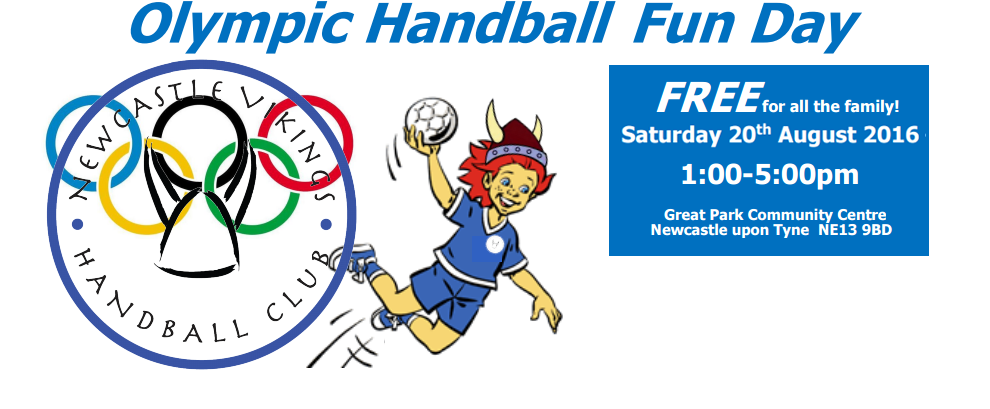 Olympic Handball Fun Day